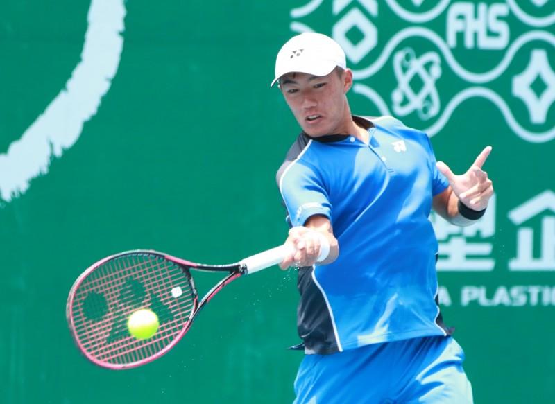網球》許育修台塑盃未來賽封王 職業生涯單打首冠
