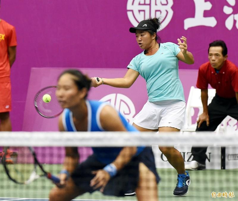 網球》「小鋼砲」梁恩碩南昌奏捷 首闖WTA女單會內