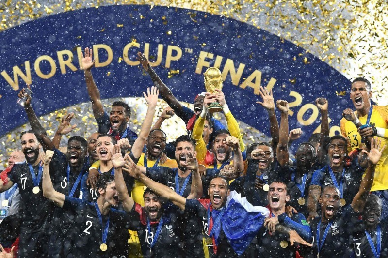 世足賽》足壇排名大洗牌 法國登頂世界第一 德國慘跌第15名