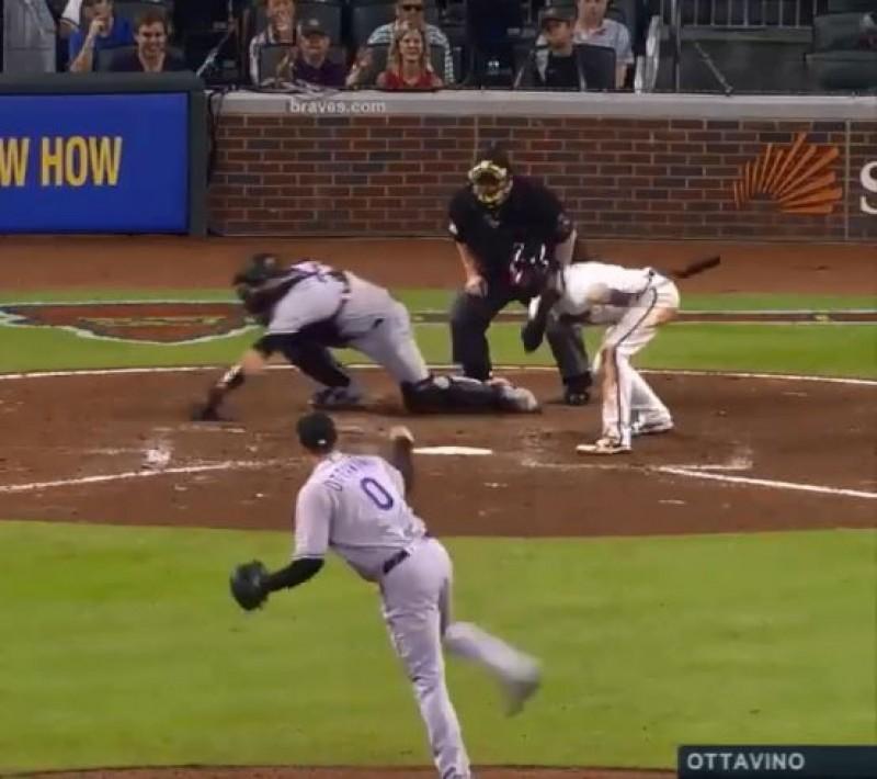 MLB》讓打者一打席跪兩次 奧塔維諾超噁滑球太銷魂