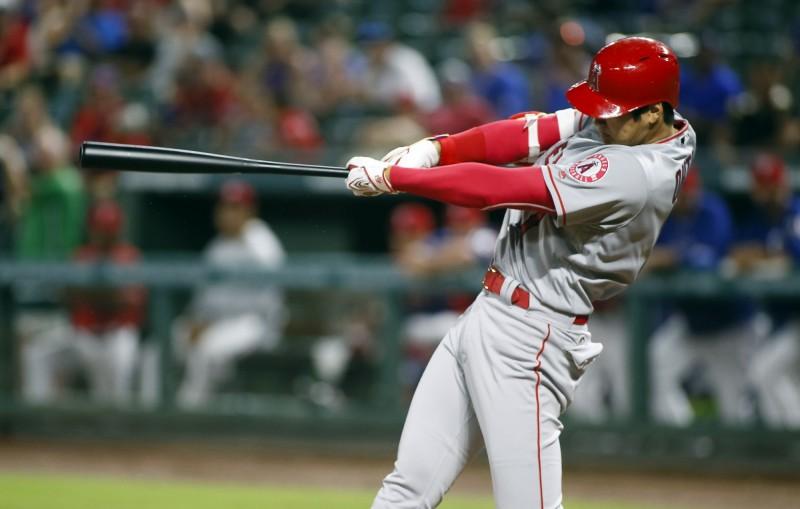 MLB》大谷「轟」狂無極限! 重心不穩也能代打三分砲