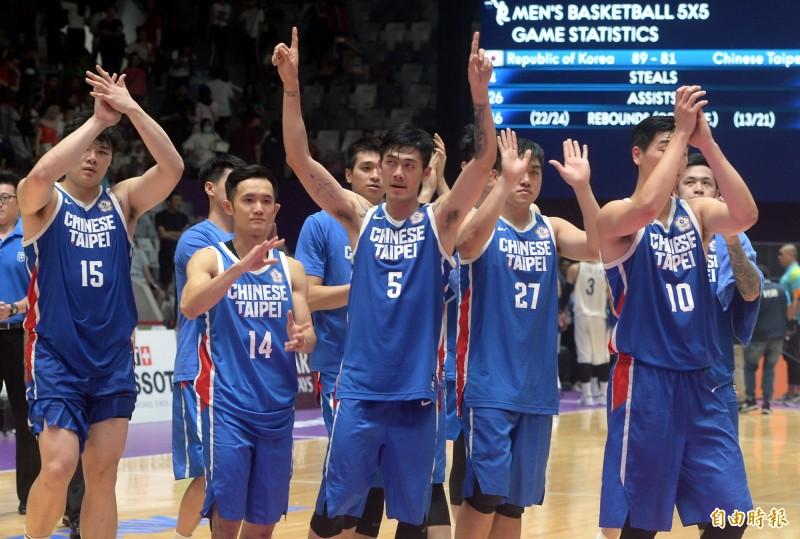 亞運》想贏南韓夢碎!台灣男籃屈居第4 仍寫48年最佳成績