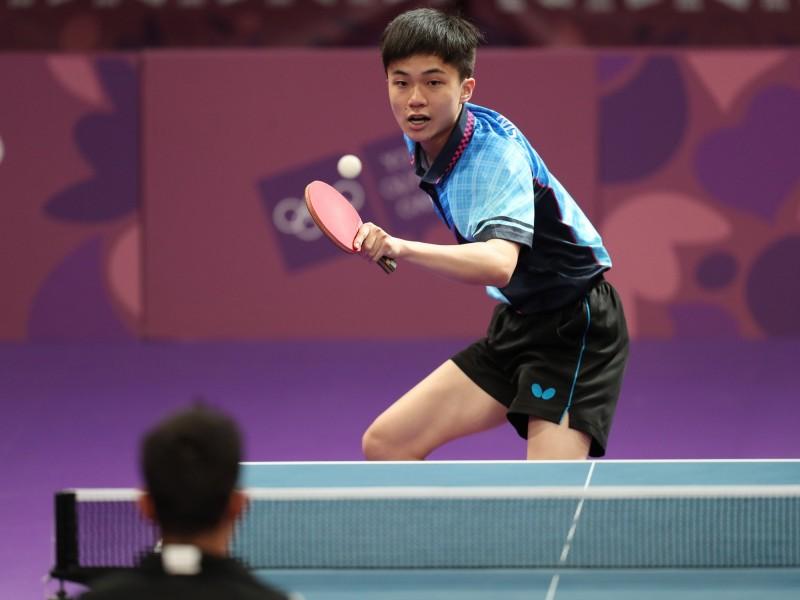 青奧桌球》林昀儒逆轉失敗 與銅牌失之交臂