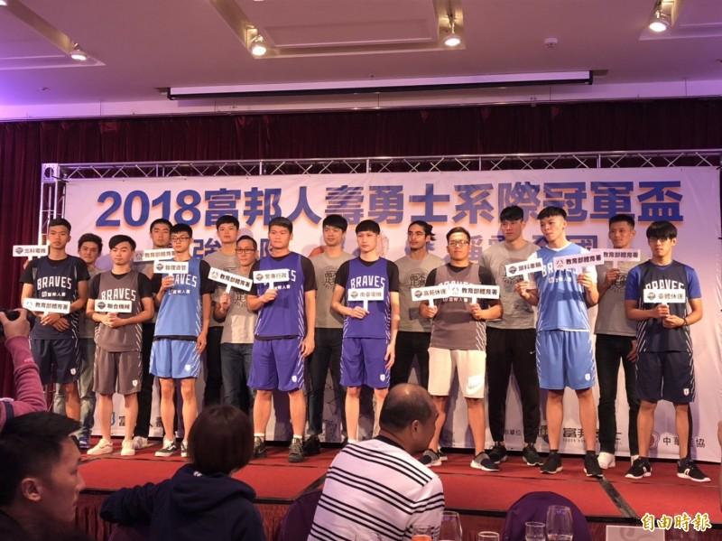 籃球》富邦系際盃8強開打 素人球星蔡文誠:好好享受比賽