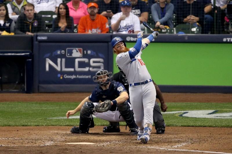 MLB》生涯第四發季後賽超前彈 透納成道奇「關鍵先生」