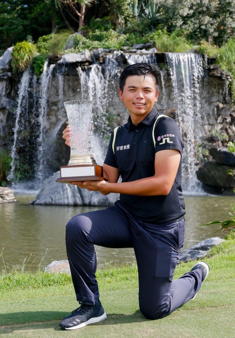 高球》洪健堯衛冕三花TPGA錦標賽 獨享獎金186萬台幣