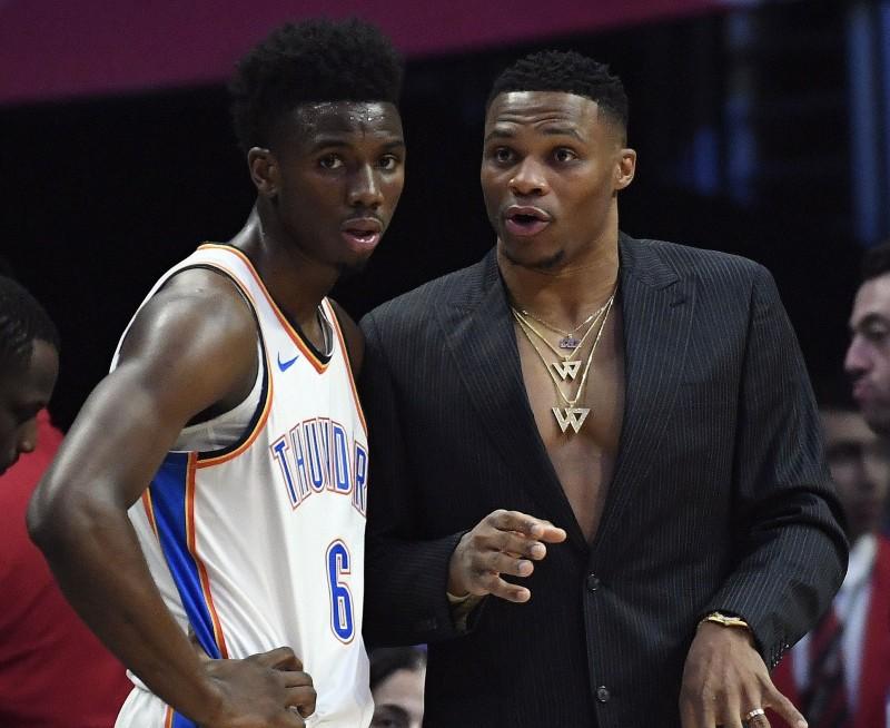 NBA》雷霆苦吞開季二連敗 魏斯布魯克即將滿血回歸