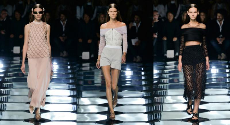 Balenciaga 2015 春裝充分展現女性曲線