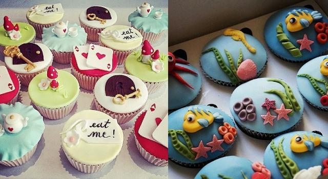 迪士尼控要瘋狂啦!超可愛杯子蛋糕解放你的少女心