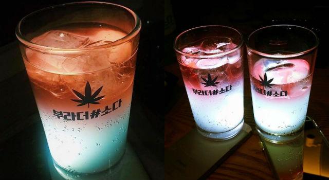 韓國網友推爆!「夜光燒酒」喝起來令人驚奇的滋味是...