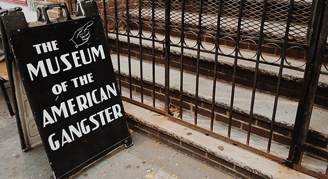 Linda Huang>>窺探紐約美國黑幫博物館 穿越黑幫歷史年代