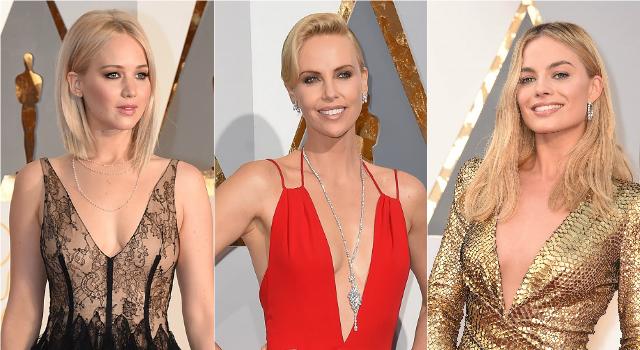 代購文章 - 深V剪裁禮服儼然成為女星心目中的最愛款式