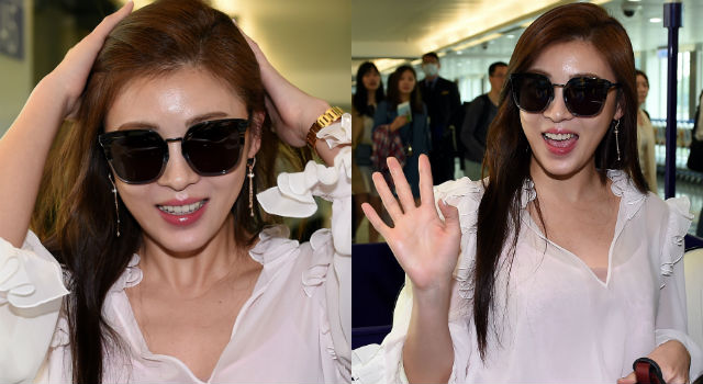 37歲比27歲更正!韓女星河智苑來台時髦全紀錄