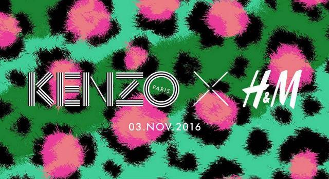 這次再沒搶到就太遜啦!KENZO x H&M聯名系列開賣日就在...