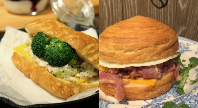 絕不失敗早午餐!5分鐘DIY「雞肉可頌」豪華上桌