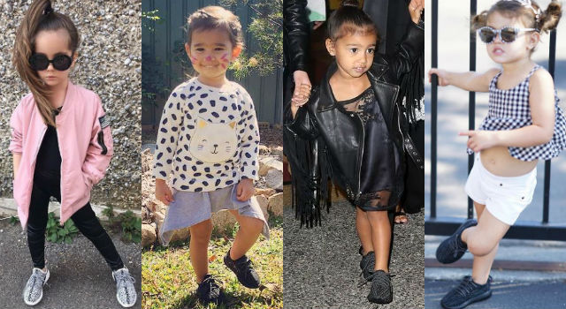 史上最幼齒女鞋頭是她!超迷你YEEZY BOOST 350童鞋簡直帥慘了