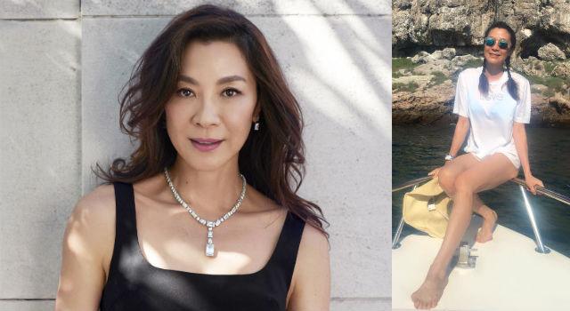 54歲「武打女皇」楊紫瓊來台瘋狂放閃!訂婚戒配七千萬珠寶實在太霸氣