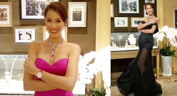 五億頂級珠寶悄悄抵台!名模Akemi一次戴走兩億?
