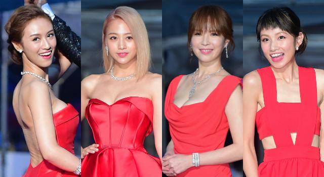 吳姍儒、鬼鬼是約好的嗎?金鐘紅毯女星最出「色」代表是她!