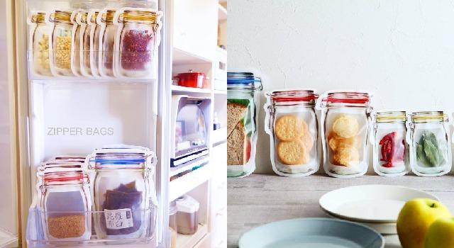 裝什麼進去都好美!讓冰箱瓶瓶罐罐也能自動變清爽的收納神物是...