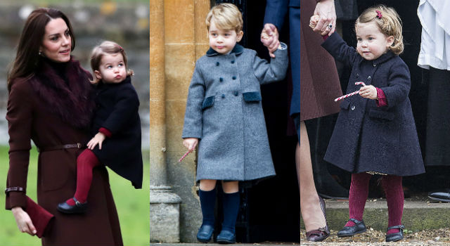 喬治、夏綠蒂呆萌表情合體太可愛!凱特王妃舊衣改造竟變這麼美?