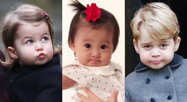 賈靜雯品味太好了吧!咘咘竟跟喬治小王子、夏綠蒂小公主一樣散發皇室氣息?