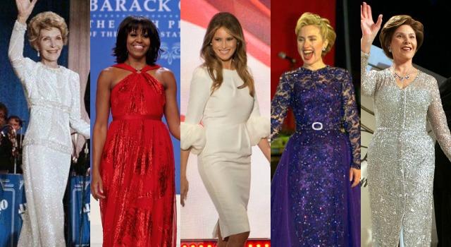 是巧合還是約定?美國第一夫人就職典禮穿著竟有這種「潛規則」