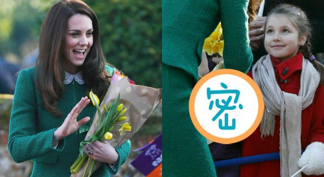 連凱特王妃都融化了!超萌小女孩親手送出的「終極大禮」竟然是...