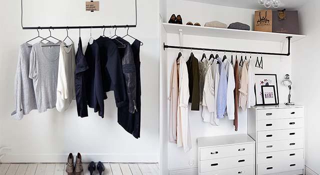 不要再把衣服丟滿地了!6個超實用收納衣物小方法,衣櫥瞬間大一倍