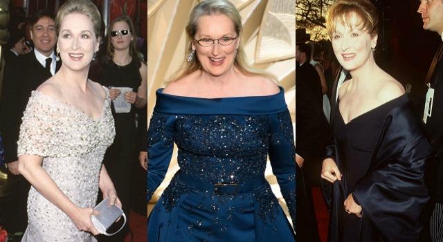 槓上老佛爺一樣稱霸奧斯卡!梅莉史翠普不減肥、不整容依舊美翻紅毯40年