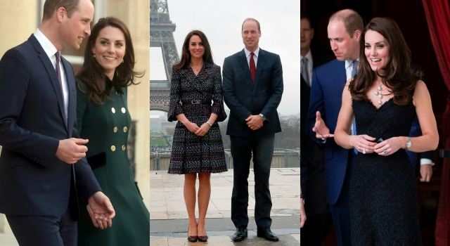 史上最美時尚外交!凱特王妃法國之旅五套戰袍驚艷全世界!