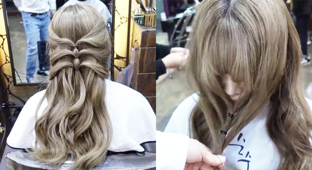 (影片)自己就能完成超美公主頭編髮!韓國髮型師「這招」上萬韓妞實測通通成功了!