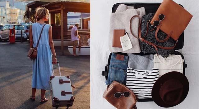 超省空間的行李箱收納法,讓你旅行途中每天都可以穿得不一樣當網美!
