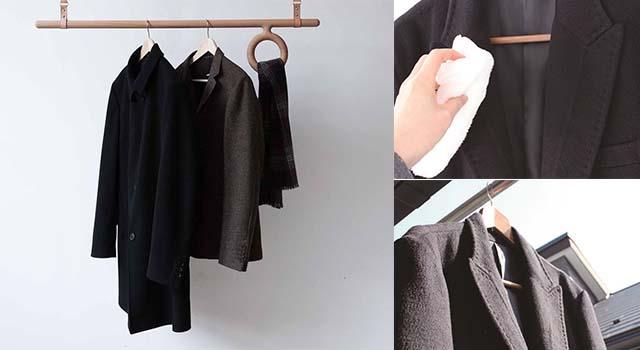 冬季大衣免送乾洗,只要毛巾沾熱水擦拭即可!4個冬季衣物洗滌小秘訣大公開!