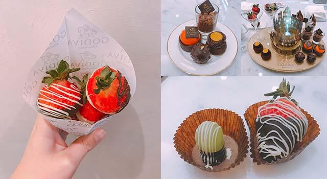 巧克力控不要錯過!GODIVA推出會旋轉的奢華下午茶組,全球只有台灣吃得到!