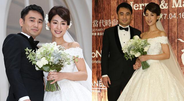 日本女星大久保麻梨子出嫁!絕美婚紗小露香肩優雅又不失性感!