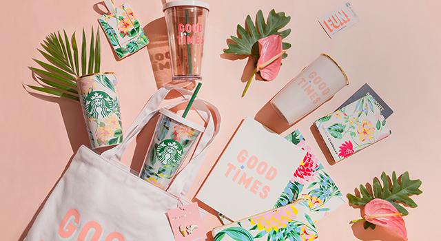 全球最美隨行杯在台灣!星巴克聯名美國時尚品牌BAN.DO 推超吸睛粉嫩限量商品