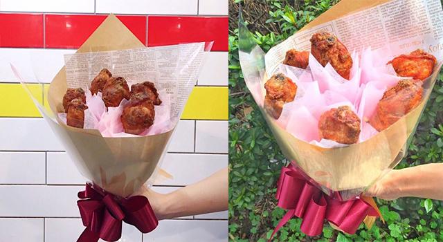 不用跑到韓國排隊「炸雞花束」台灣也買得到!今年母親節就用它向吃貨媽媽表達愛意