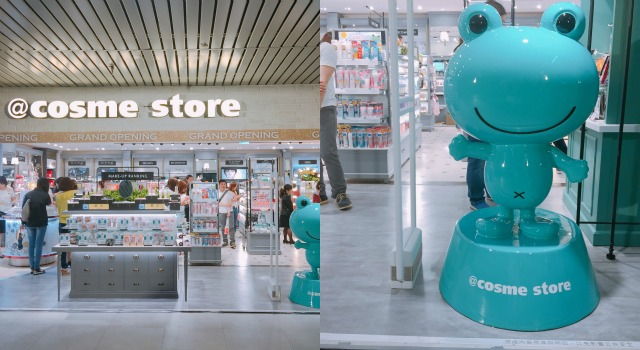 日本藥妝聖經@cosme store登台!好用平價日系美妝品超齊全根本省下機票錢!