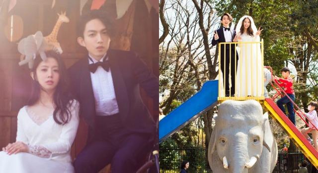 林宥嘉、丁文琪「戶外婚禮」畫面太美!日本攝影師川島小鳥掌鏡清新婚紗照