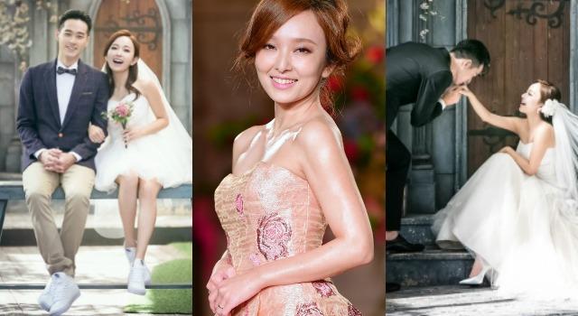 154公分這樣挑婚紗最顯高!台灣媳婦愛紗胸部以下、腰部以上線條藏關鍵