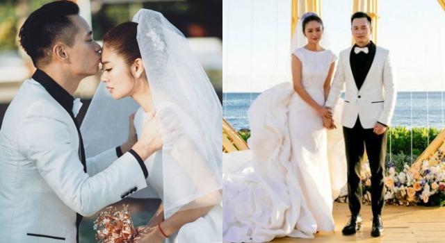 安以軒披白紗化身「最美禮物」幸福出嫁!10.57克拉絕美鑽戒狂吸眼球
