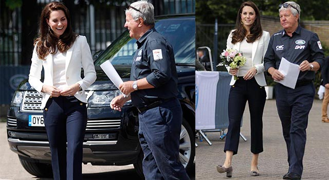 凱特王妃再度成為「完售女神」!平價帥氣七分褲成為搶購焦點