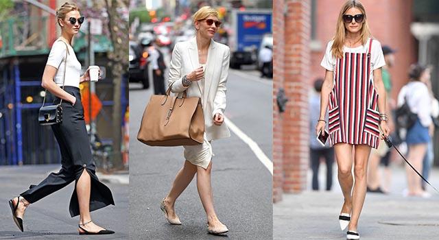 神奇穿搭術!4個挑選平底鞋訣竅讓小個女也可以穿出名模高挑比例