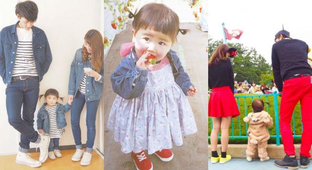 衣櫃裡一定要有這幾件!日本人妻教你穿出街頭最時髦的親子裝!