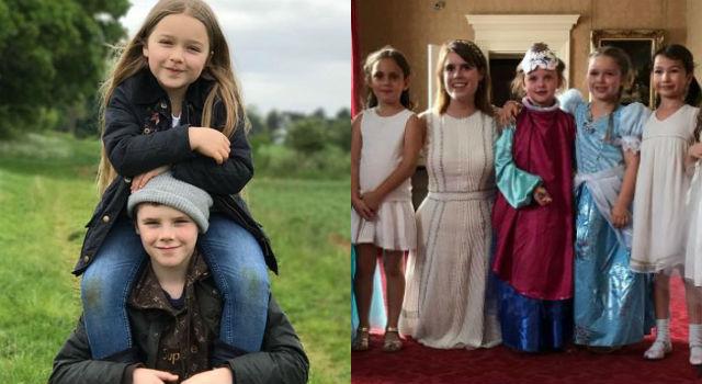 6歲貝小七化身真人公主!豪華慶生行程媲美英國皇室成員