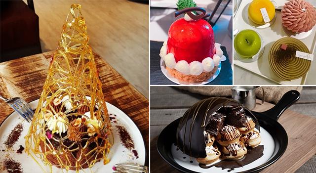 姐吃的不是甜點是排場!5家讚數飆升必訪的浮誇甜點店是...