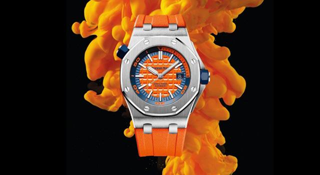 反骨精神 時髦潛能 愛彼皇家橡樹離岸型潛水錶