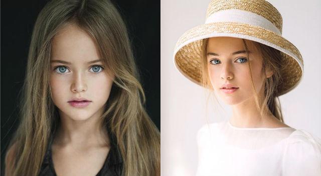 「世界最美女童」長大了!12歲克莉絲汀娜成時尚圈最嫩超模
