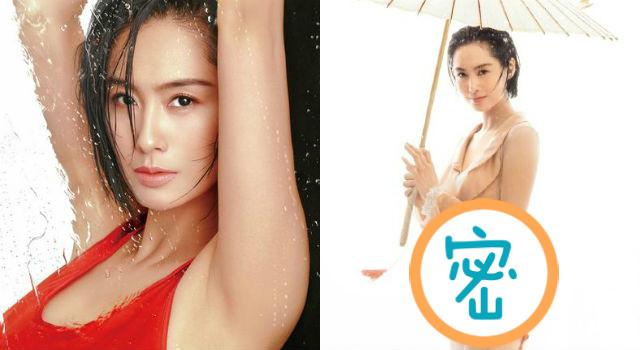 眼神比身材還性感!45歲朱茵辣秀「蘋果臀」拍攝雜誌美照